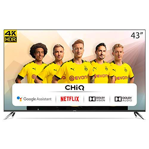 "CHiQ Televisor Smart TV LED 43"", Resolución 4K UHD"