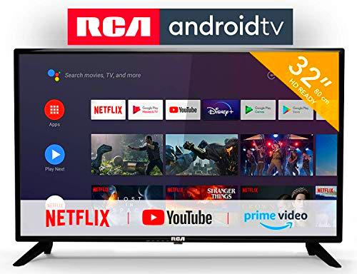 RCA RS32H2 Android TV (32 Pulgadas HD Smart TV con Google Assistant)