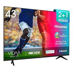 Hisense 43AE7000F UHD TV 2020 - Smart TV Resolución 4K con Alexa integrada