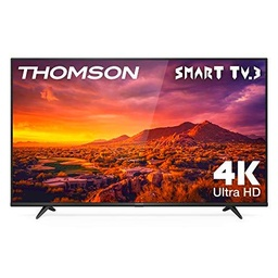 THOMSON 50UG6300 - Televisor LED de 50 pulgadas, Smart TV con 4K UHD