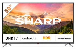 "Sharp 50BL3EA - TV Android 50"" (4K Ultra HD, 4 x HDMI"